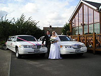 Wedding cars & Limousine hire