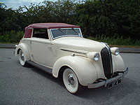 1937 Chrysler Wimbledon Wedding Car hire